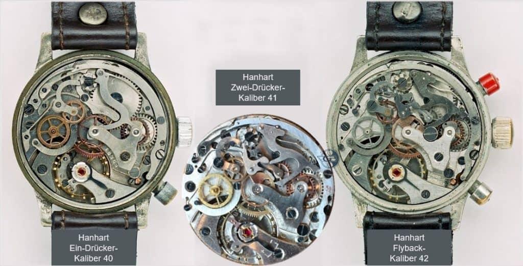 Hanhart Chronographenkaliber 40-41-42 (C) Uhrenkosmos