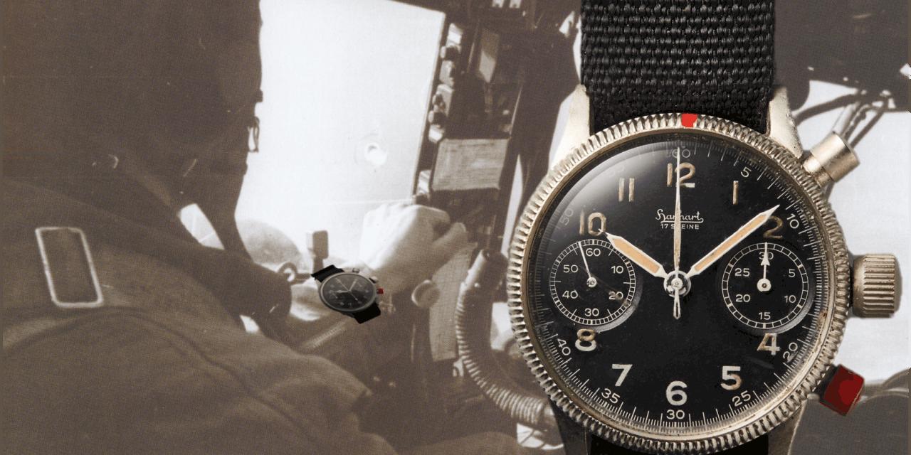 Hanhart Uhren: Der Flyback Chronograph und der rote Drücker