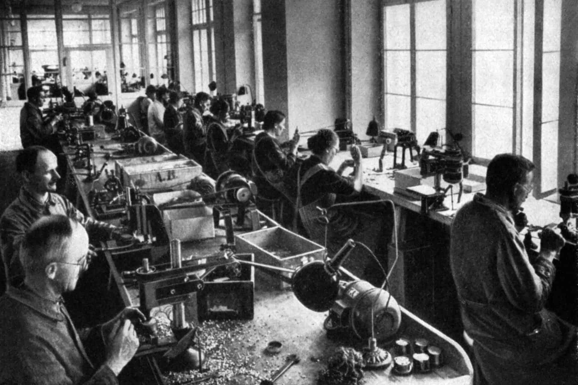 Hanhart Uhrenmanufaktur der 1930-er Jahre