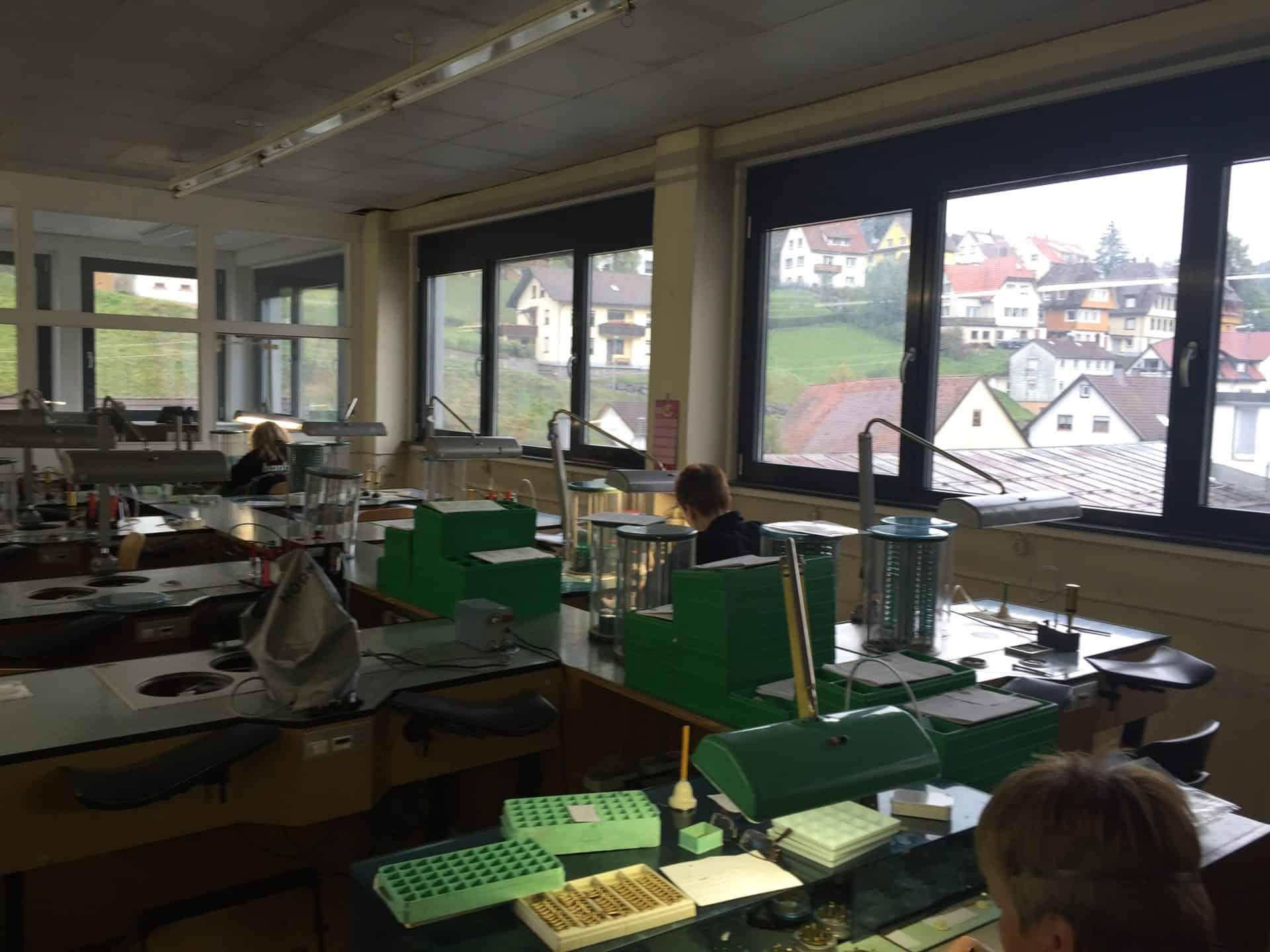 Hanhart Atelier der Uhrenmarke in Gütenbach