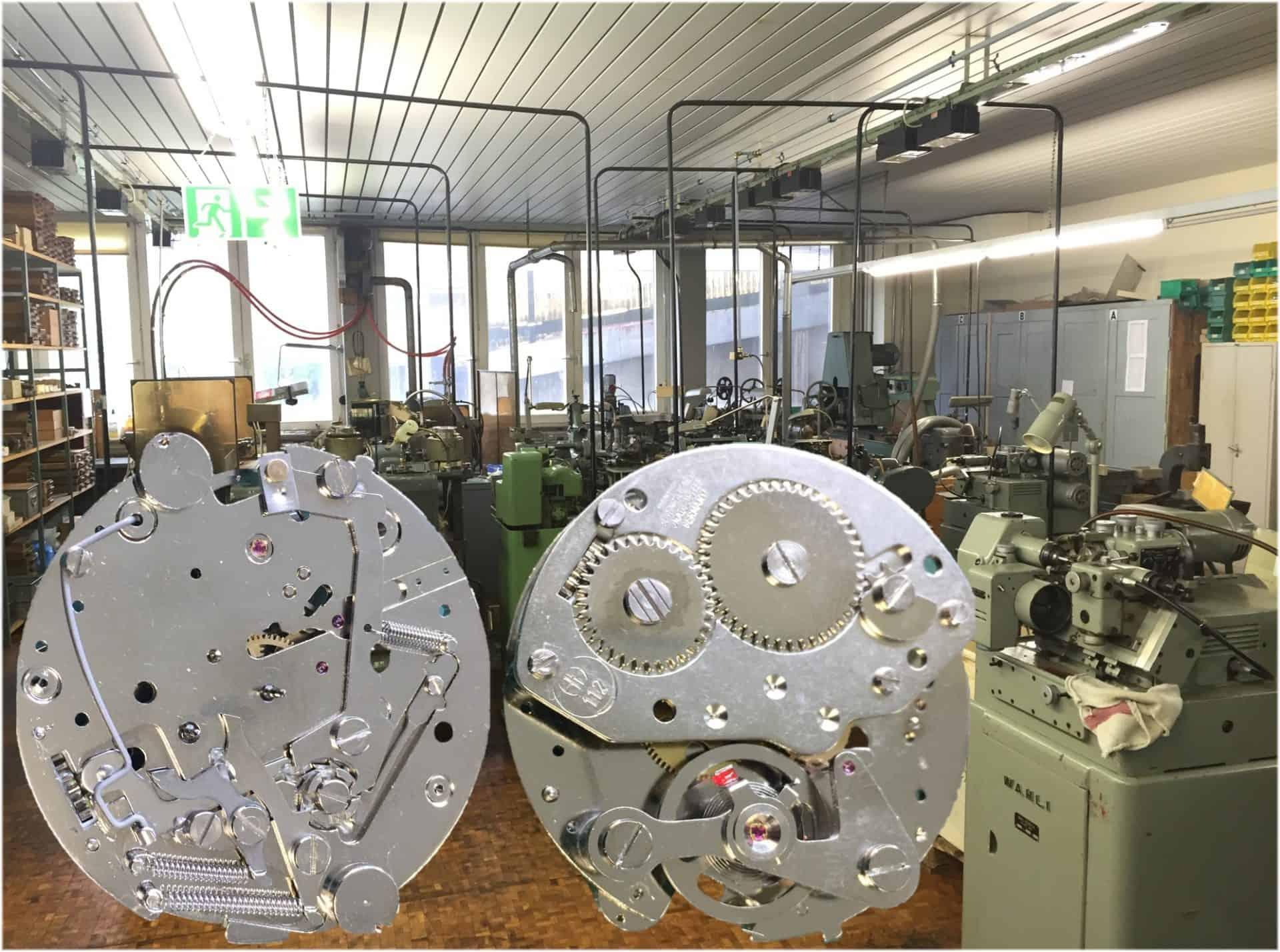 Hanhart Stoppuhren Atelier der Uhrenmarke in Gütenbach