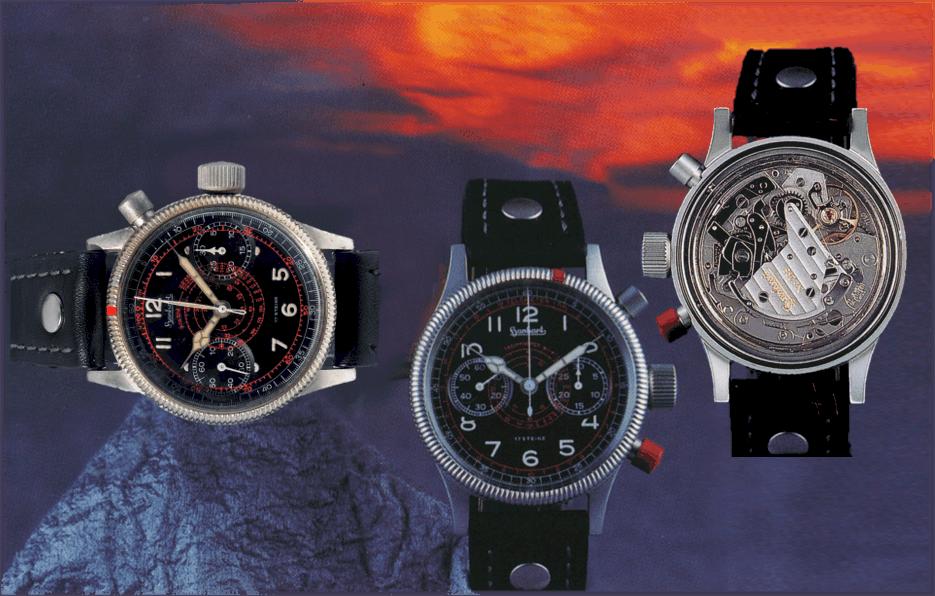 Hanhart Tachy-Tele 1940 und 1997 Kaliber Valjoux 7760 (C) Uhrenkosmos