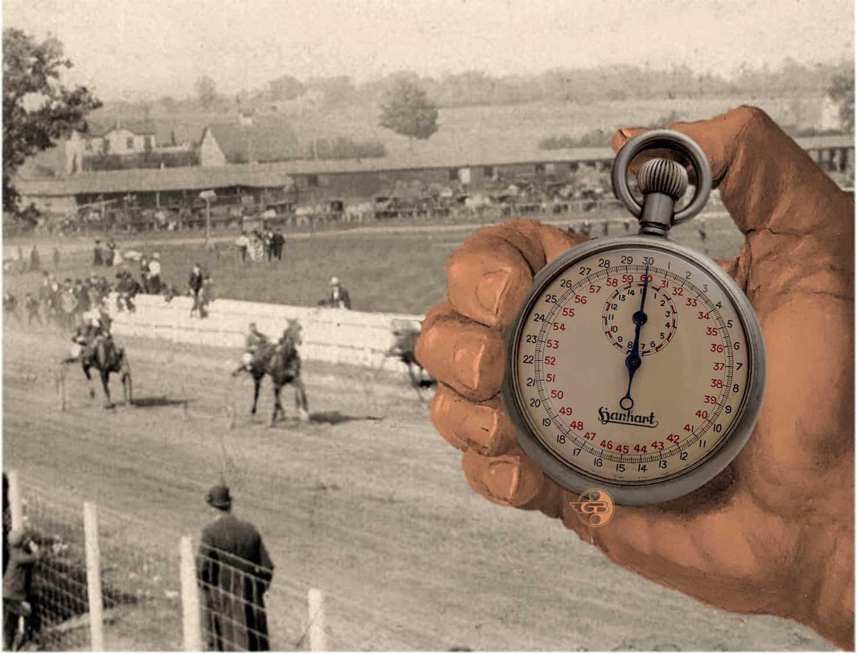 Historische Hanhart Volks-Stoppuhr (C) Uhrenkosmos
