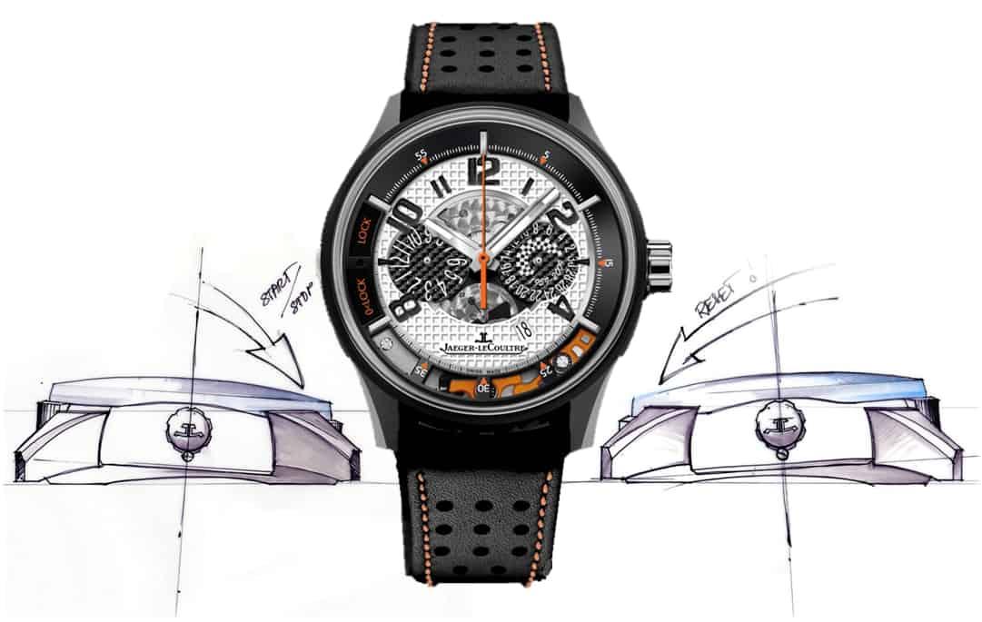 aeger-LeCoultre  AMVOX 2 Chronograph. Preis mit geschwärztem Titangehäuse 12.500 Euro