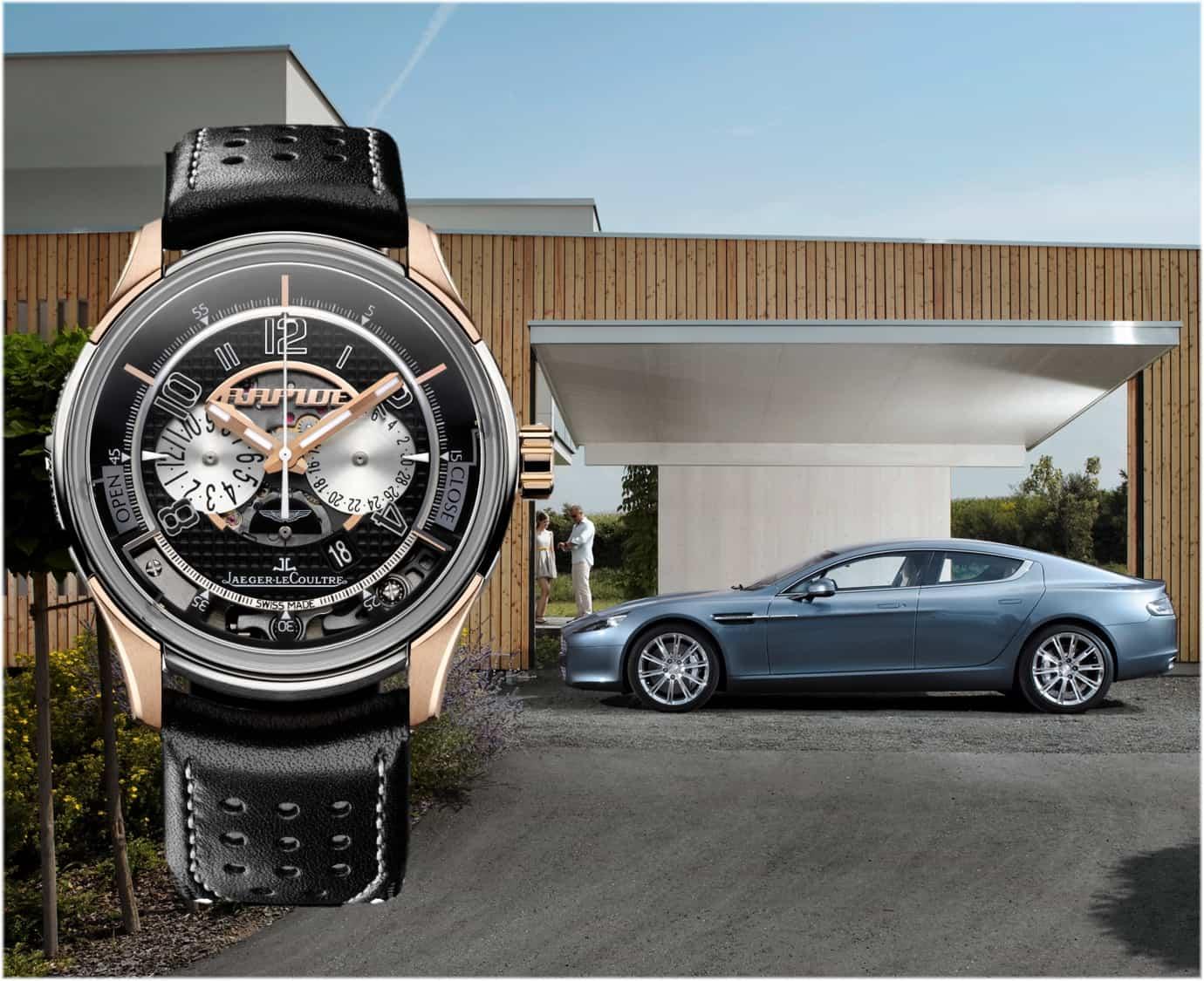 Uhrenpartner Modell Jaeger-LeCoultre AMVOX Aston Martin Rapide Transponder