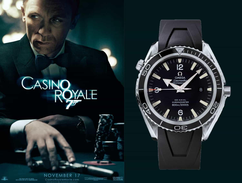 James Bond Casino Royal 2006 Omega Seamaster Professional und Omega Seamaster Planet Ocean