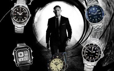 James Bond UhrenJames Bond Uhr: Das sind die 007 Uhren von 1981 bis heute!