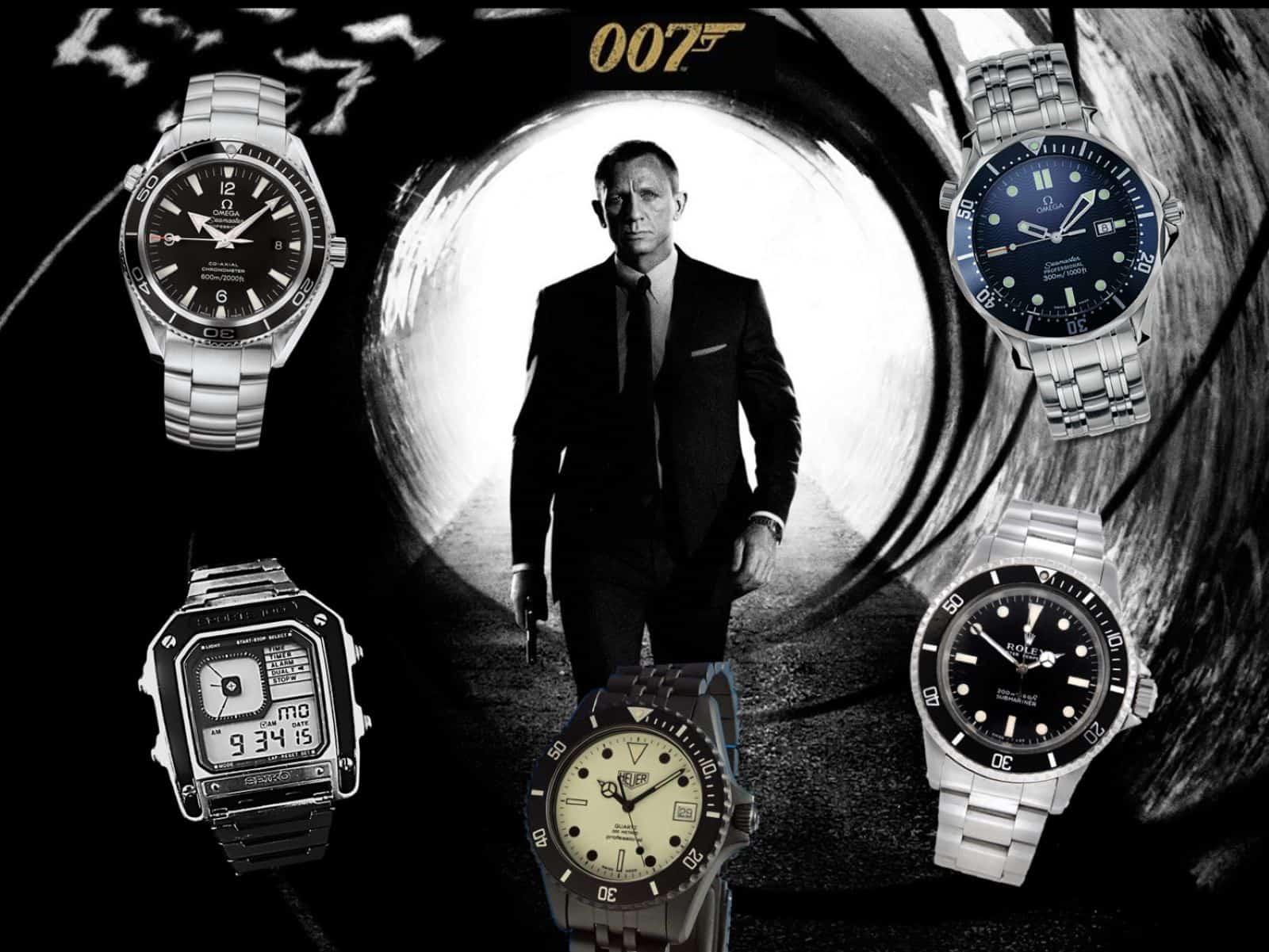 James Bond Uhr 1981 bis heute