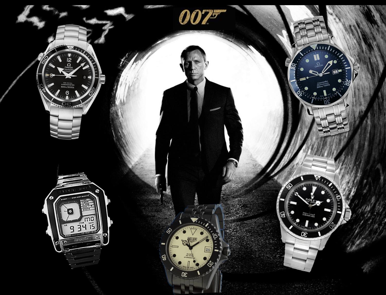 James Bond Uhr 007 Modelle von 1981 bis 2020