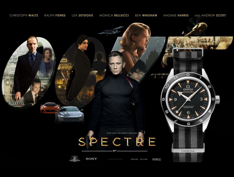 James Bond Uhr Spectre 2015 Omega Seamaster 300 Spectre