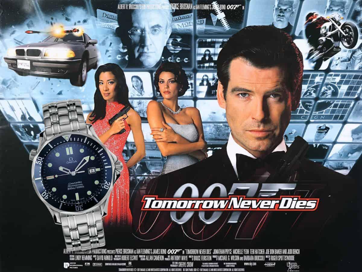 James Bond Uhren Der Morgen stirbt nie 1997 Omega Seamaster Professional