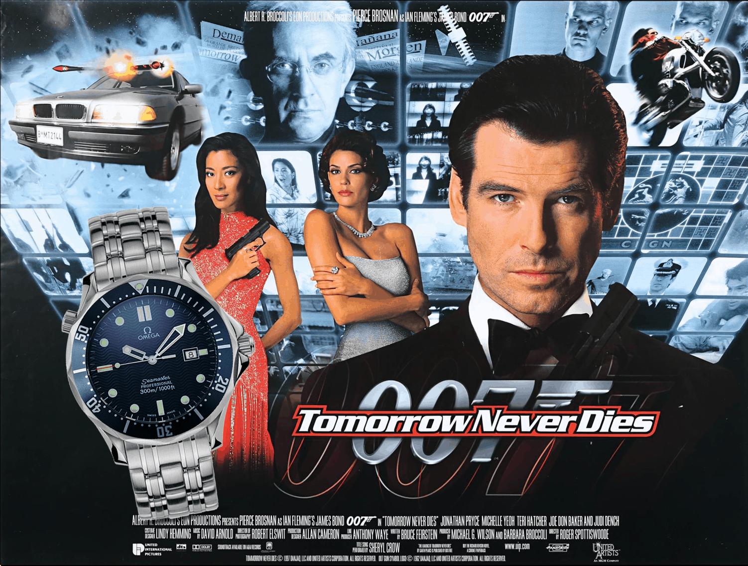 James Bond Uhr Der Morgen stirbt nie 1997 Omega Seamaster Professional