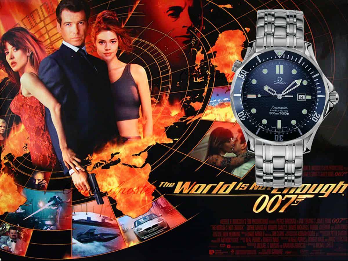 James Bond Uhren Die Welt ist nicht genug 1999 Omega Seamaster Professional