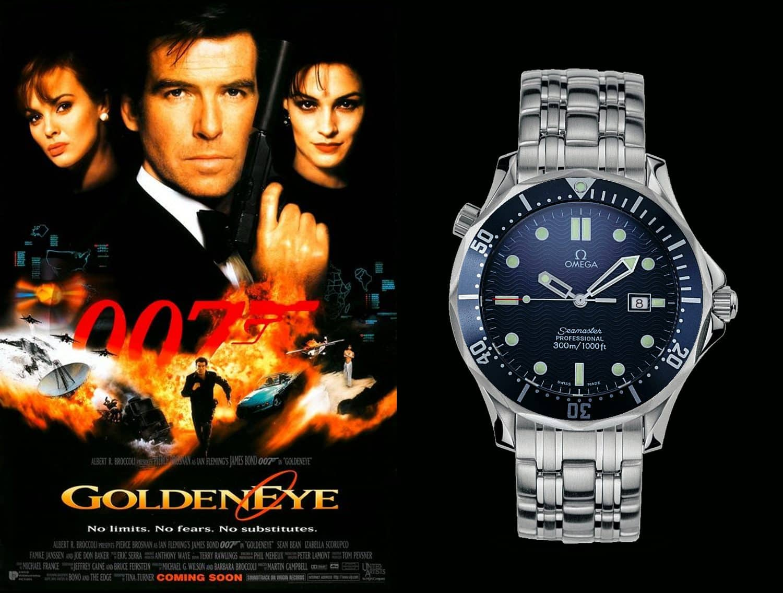 James Bond Uhren Golden Eye 1987 Omega Seamaster Professional 300m Quarz
