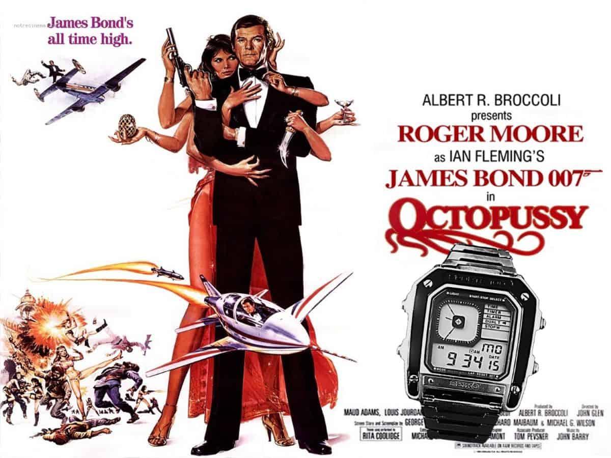 James Bond Uhr Seiko im Film Octopussy von 1983