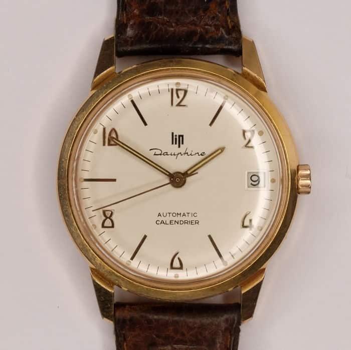 Lip Dauhine Armbanduhr der 50-er Jahre