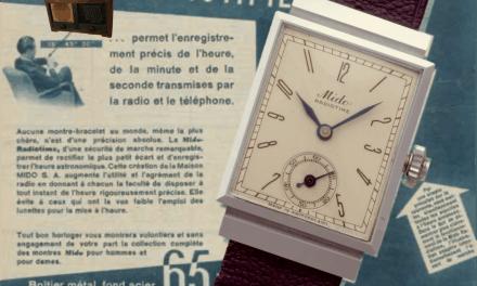Mido Radiotime: präzise Radio-Zeit per Knopfdruck