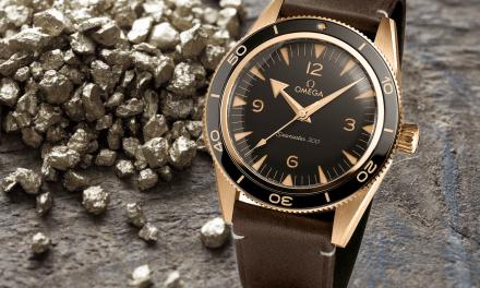 Omega Seamaster 300 Bronze Gold: Ein echtes Glanzstück