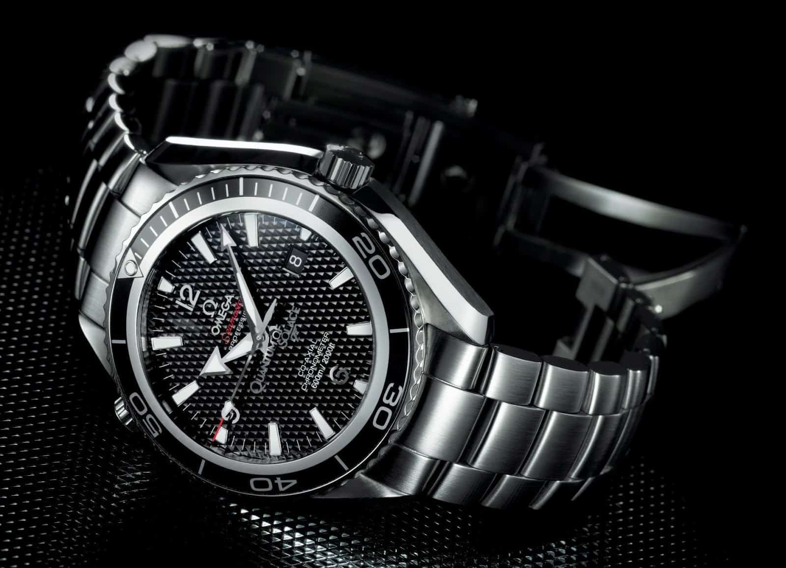 Omega Seamaster Planet Ocean Quantum of Solace Limited Edition