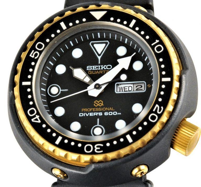 James Bond Uhr Seiko 7549 Golden Tuna