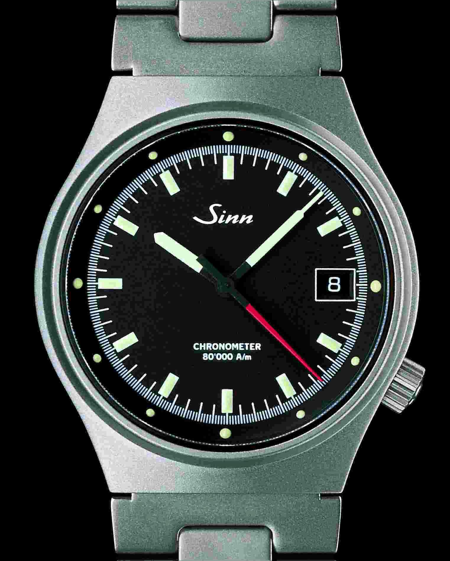 Sinn Spezialuhren amagnetischer Armband-Chronometer 244 von 1994