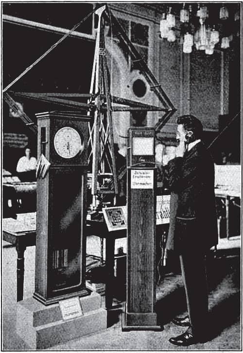 Das präzise Einstellen von Sekundenpendeluhren erfolgte per telefonischen Zeitzeichen