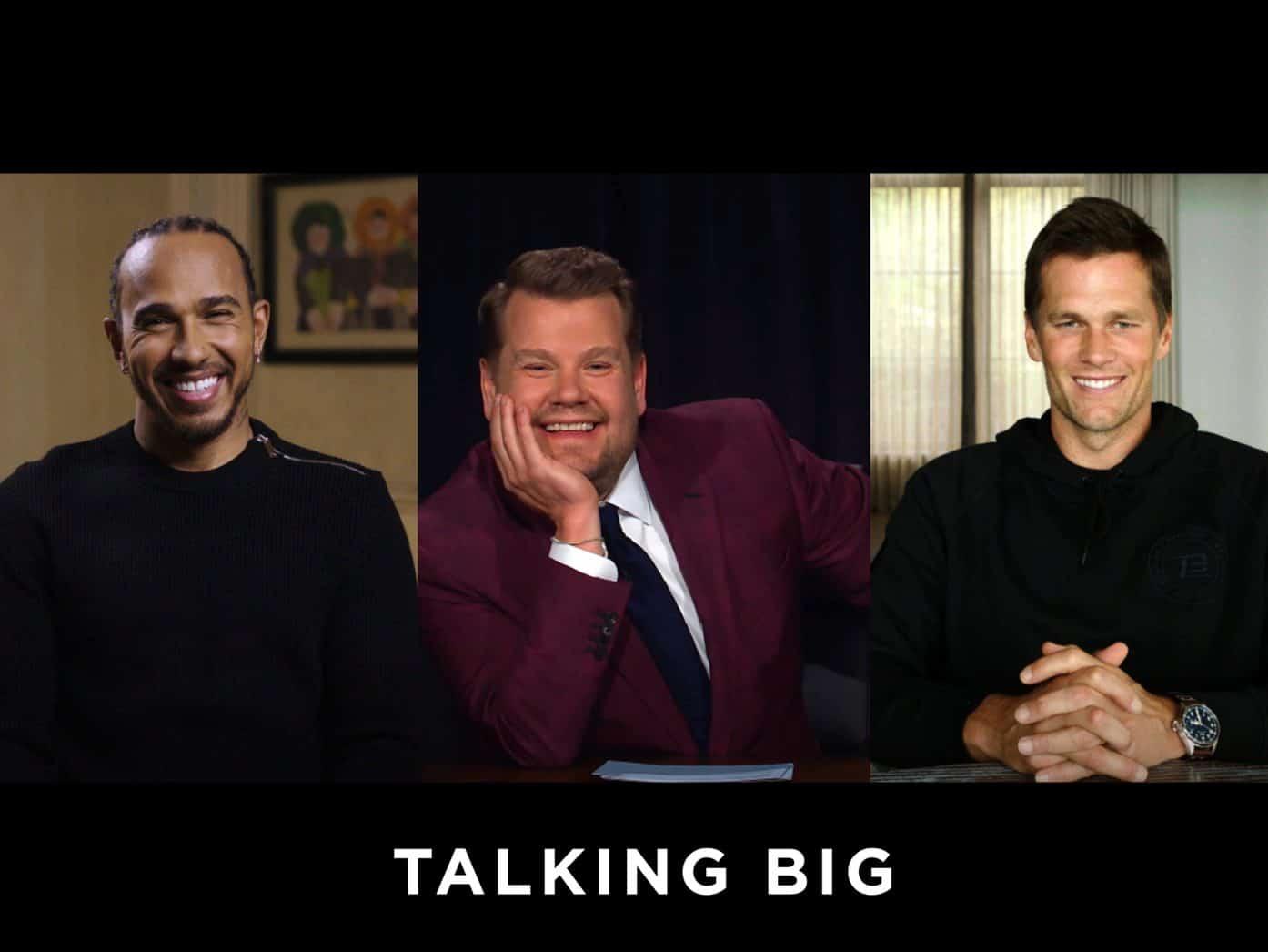 """Interview Brady - HamiltonLewis Hamilton und Tom Brady: """"Du musst an dich selbst glauben, bevor jemand anderes an dich glaubt"""""""