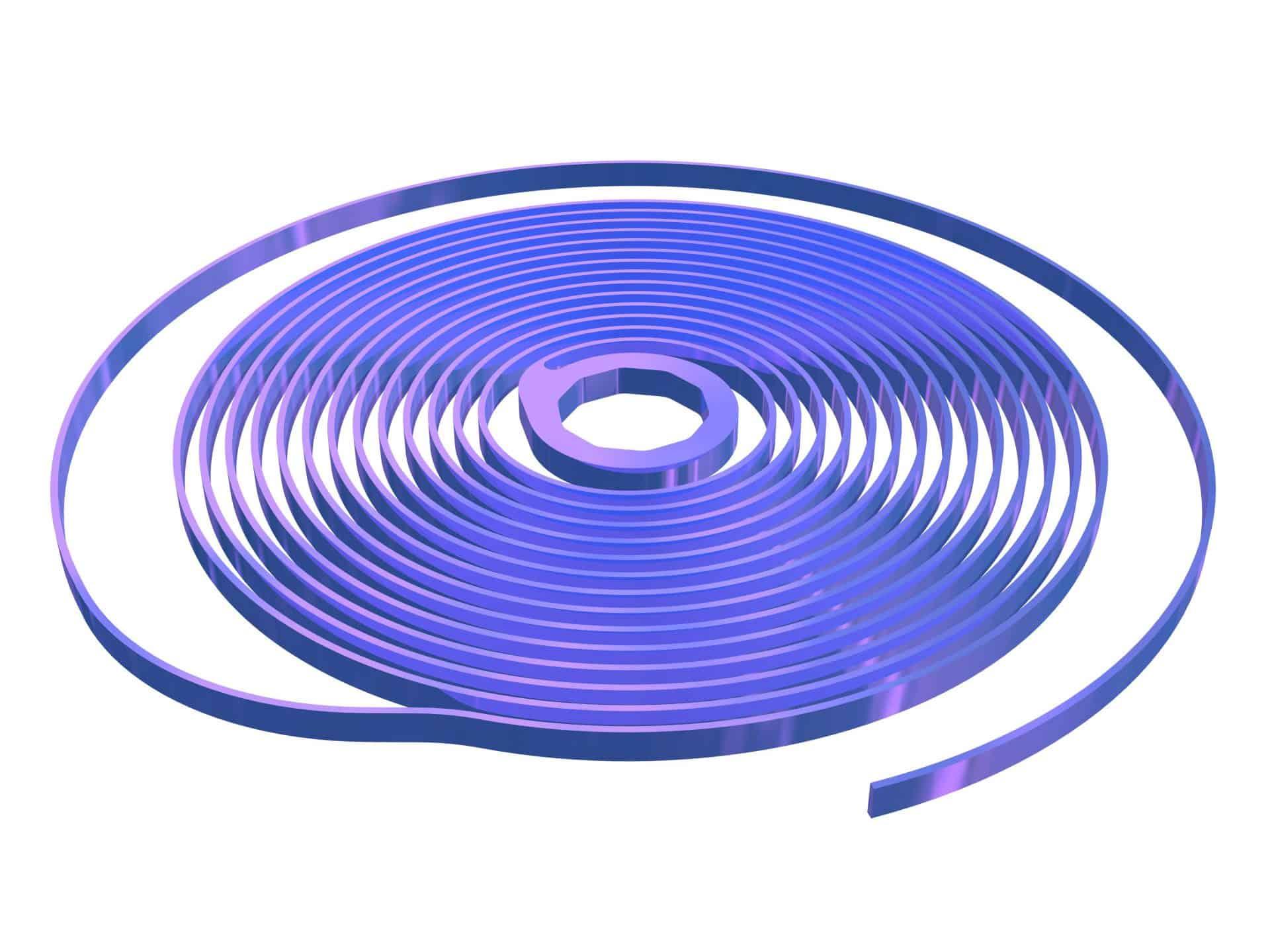 Hightech Silizium-Unruhspirale von Ulysse Nardin