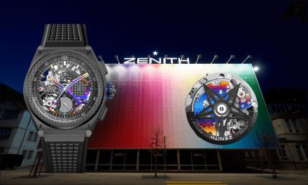 Zenith Defy 21 Felipe Pantone: ein farbenfroher Chronograph