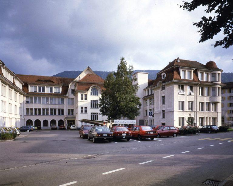 Roventa Henex Gebäude Tavannes 1988
