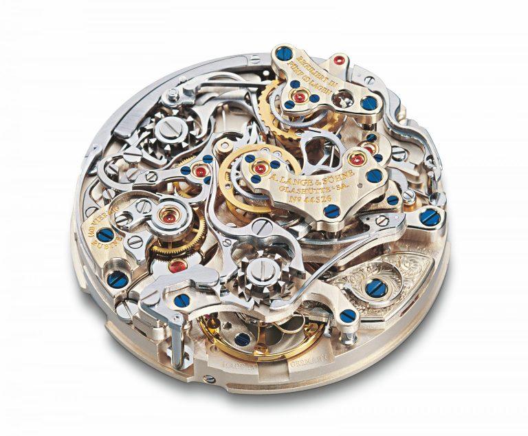 A. Lange & Söhne Double Split  Platin Ref 404.035 - Preis 2004 EUR 82.500