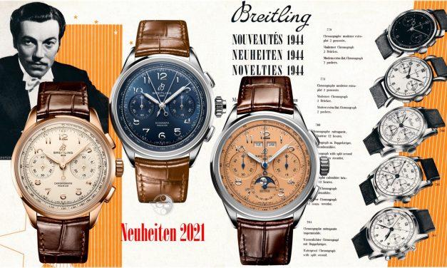 Breitling Premier Heritage Chronographen: zurück in die Zukunft