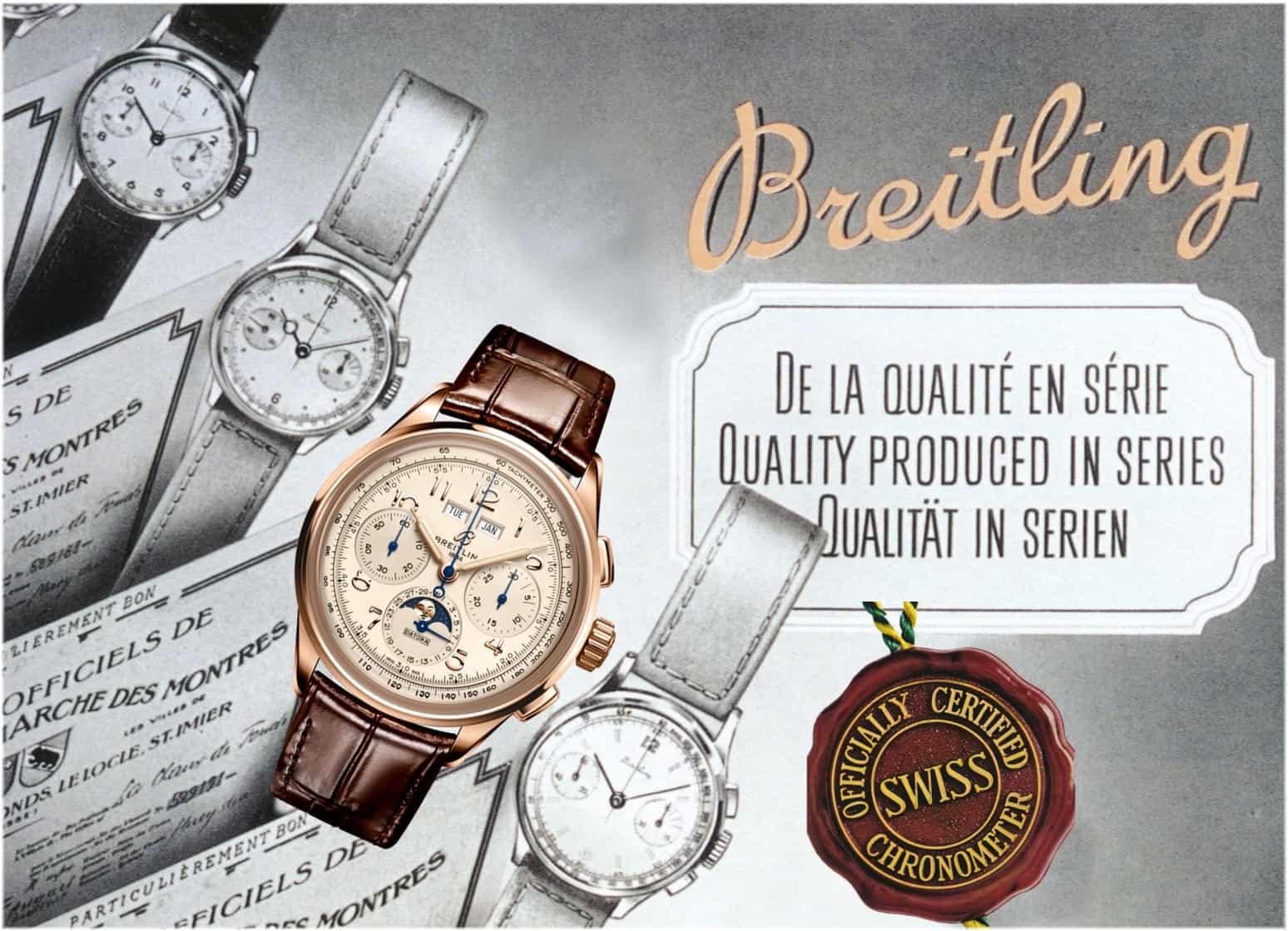COSC-zertifiziert: Breitling Premier Heritage B25 Datora 42