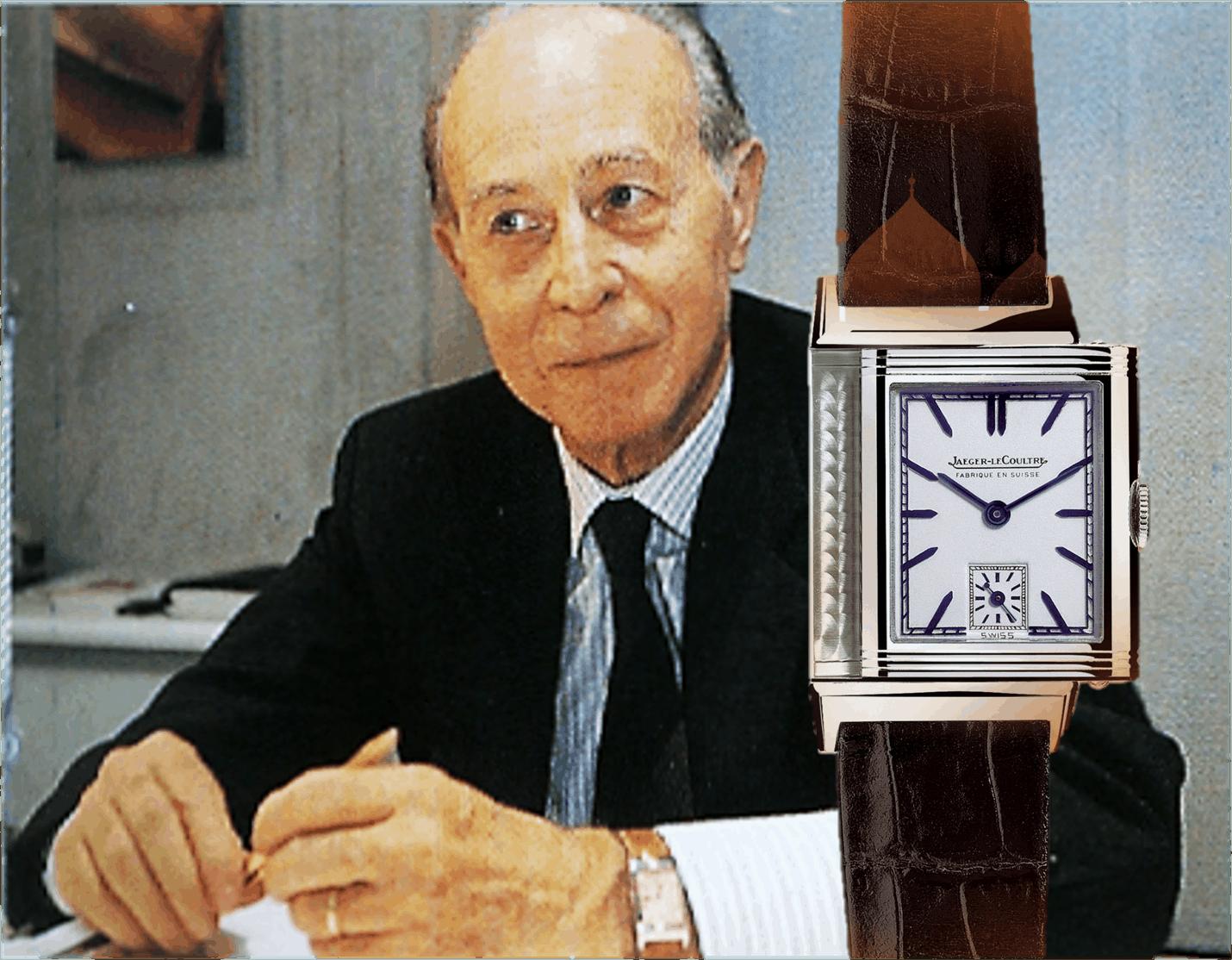 Giorgio Corvo, der italienische Importeur und Agent von Jaeger-LeCoultre leitete die Renaissance der Reverso Uhr ein