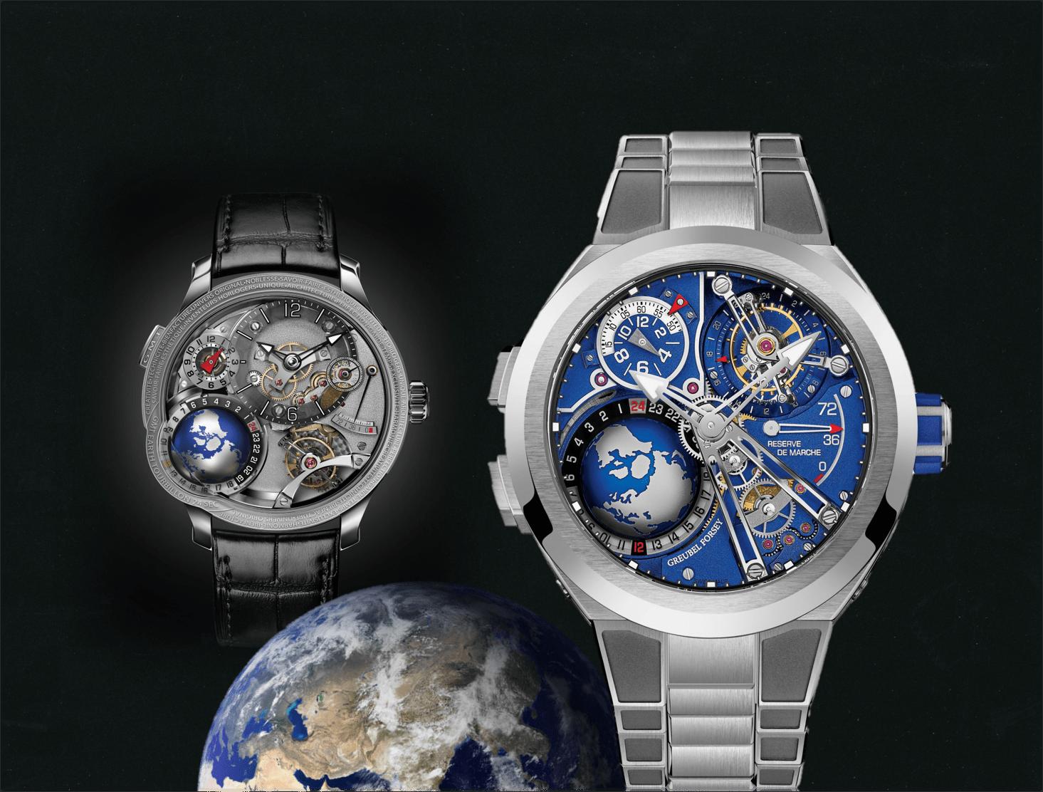 Luxuriöse GMT UhrGreubel Forsey GMT Sport: Luxuriös rund um den Globus unterwegs