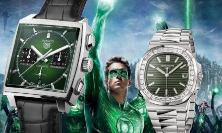 Grünes Zifferblatt bei Uhren: Ach, es grünt so grün…
