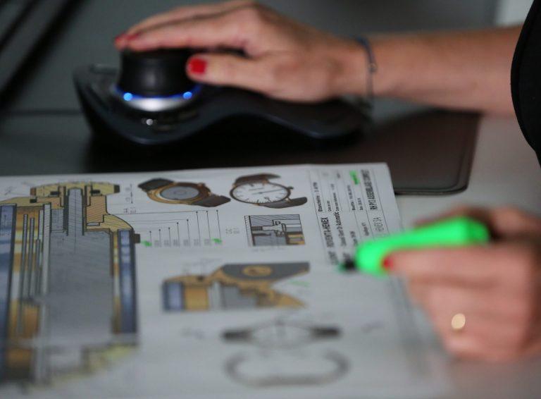 Konstruktionszeichnung Roventa Henex Modell
