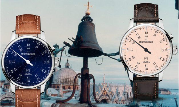 MeisterSinger Bell Hora: Dem Glücklichen schlägt jede Stunde