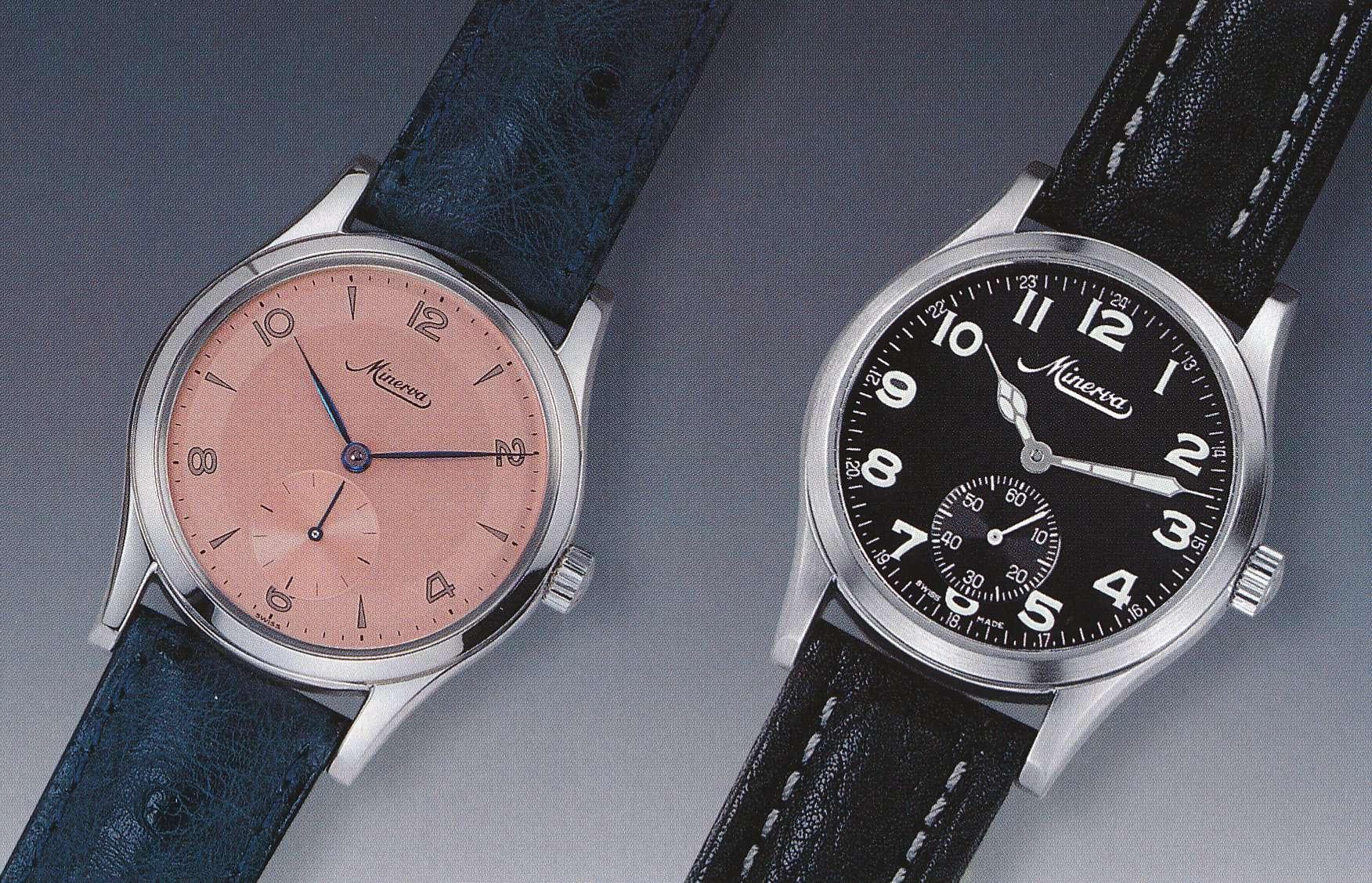 Minerva Armbanduhren Kaliber 48 von 1998