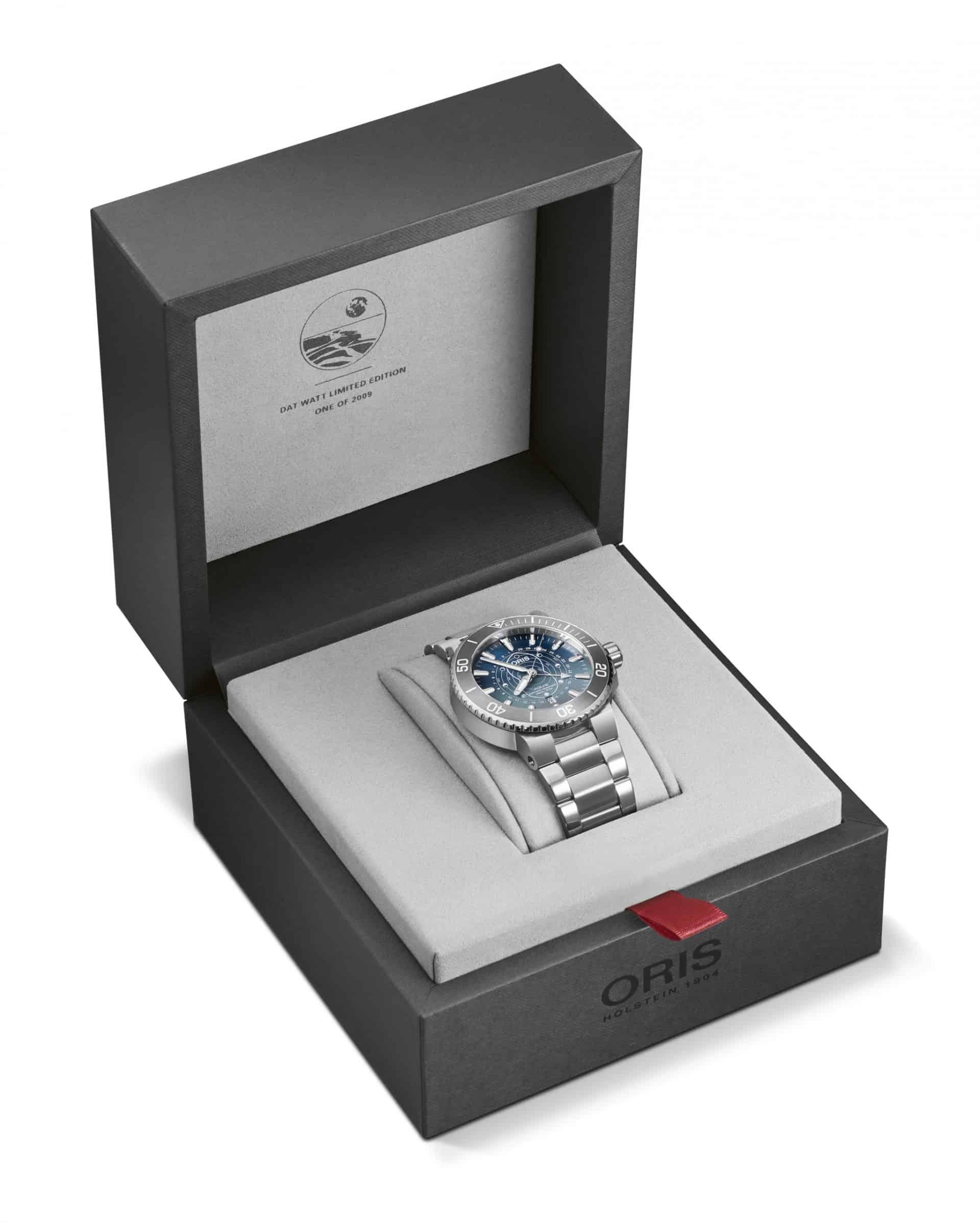 Oris Aquis Dat Watt Limited EditionRef. 01 761 7765 4185 Set