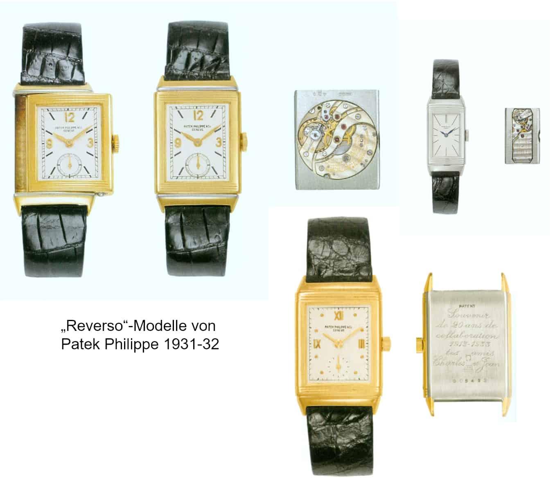 Patek Philippe Reverso Modelle 1931 1932