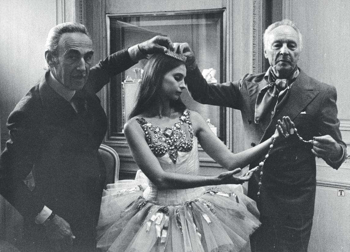 Pierre Arpels Ballerina Suzanne Farrell und Choreograf George Balanchine ca 1976 1