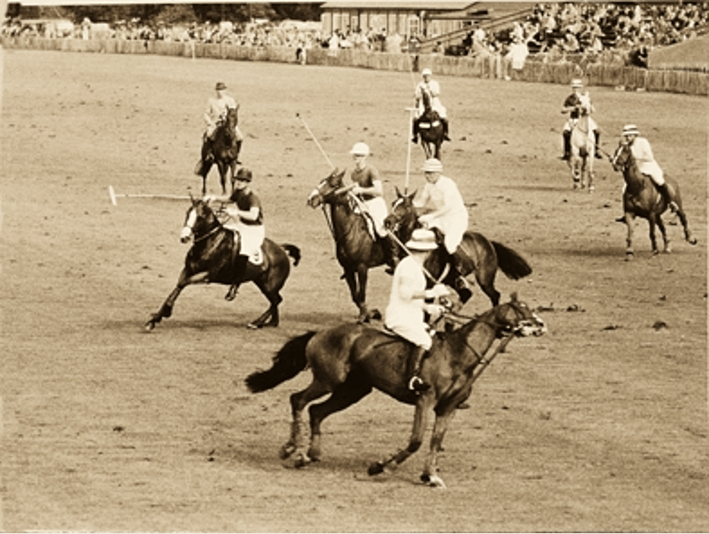 Polospieler Jaipur 1930 er Jahre
