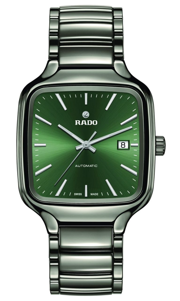 Rado True Square Automatik Green