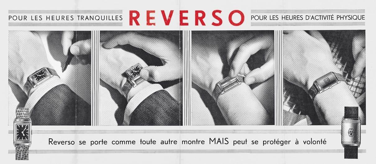 Reverso Werbung aus dem Jahr 1932