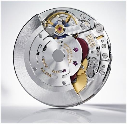 Automatikkaliber Rolex 3185 mit variablem 12 Stundenzeiger
