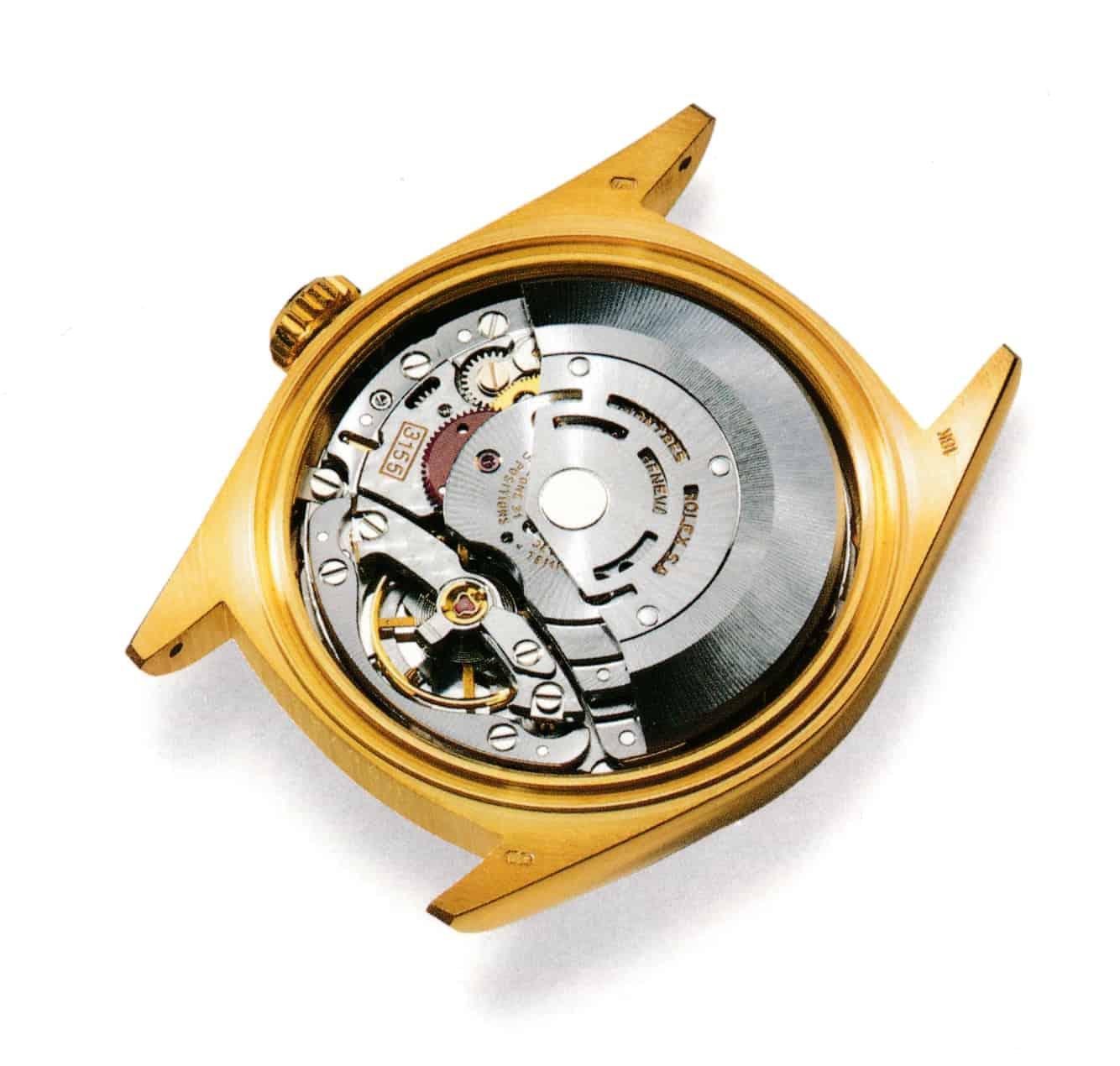 Das Rolex Manufakturkaliber 3155
