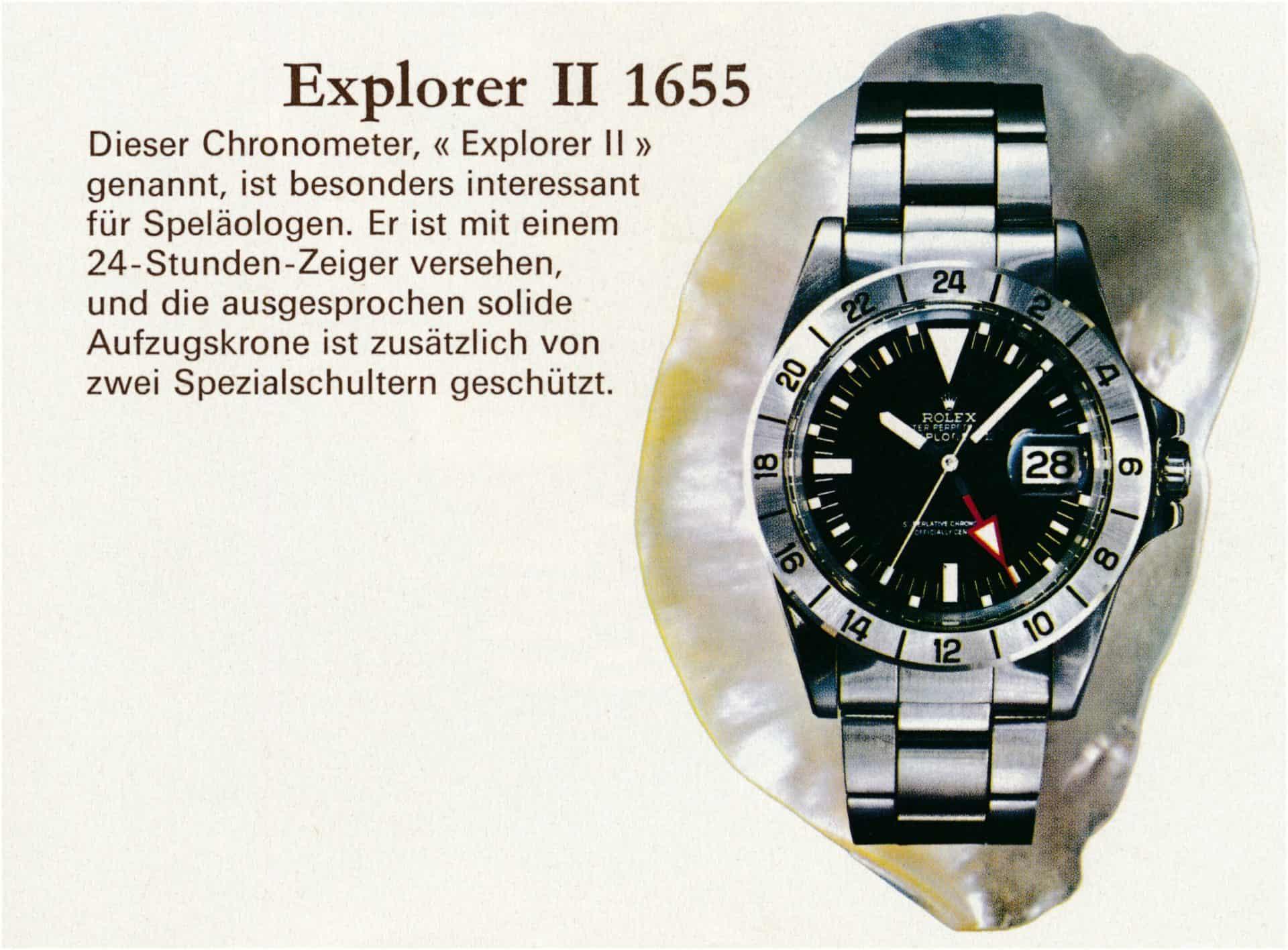 Rolex Explorer II Referenz 1655 von 1971