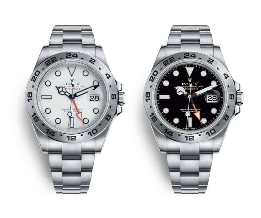 Rolex Explorer II Referenz 216750 Preis 2012 6.100 Euro