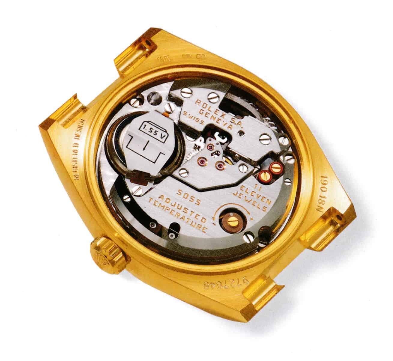 Rolex Oysterquartz Kaliber 5055
